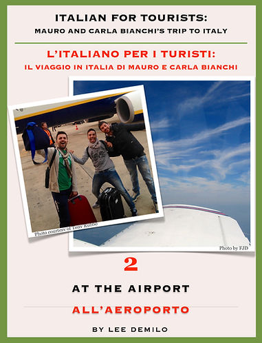 Lesson/Lezione 2 At the Airport | All'Aeroporto