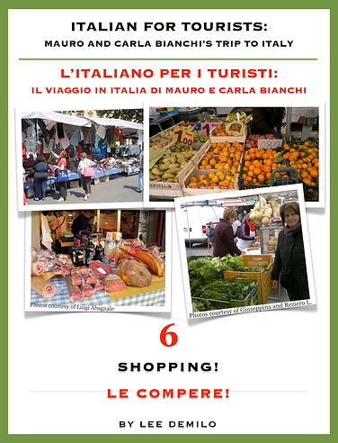Lesson/Lezione 6 Shopping | Le Compere