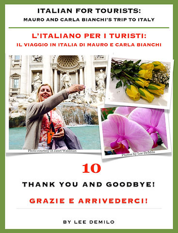 Lesson/Lezione 10 Thank you and Goodbye! | Grazie e Arrivederci!
