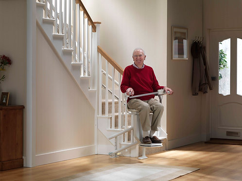 Stannah's Curved Stair Lift