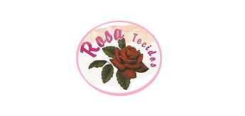 rosa tecidos