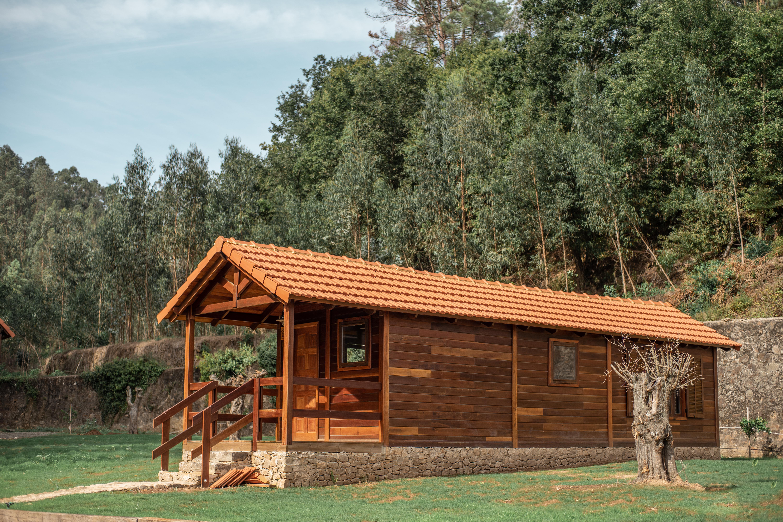 Bungalow T1 em madeira de sucupira