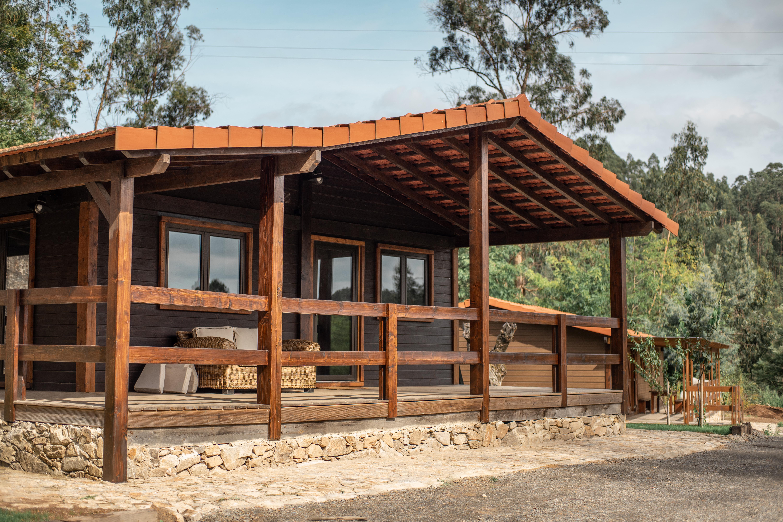 bungalow em madeira caima ecoresort