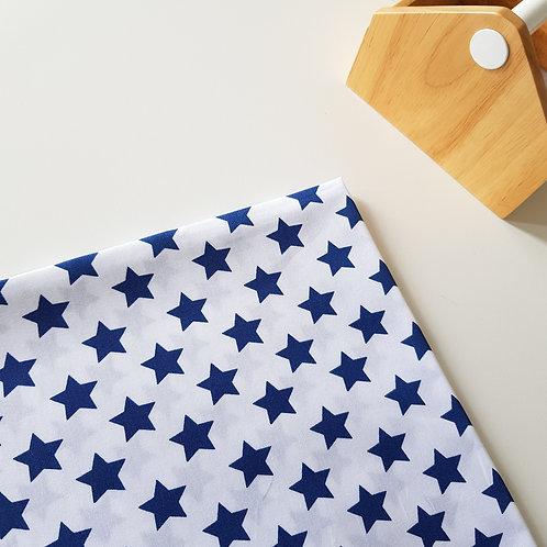Lençol de berço Estrela Azul