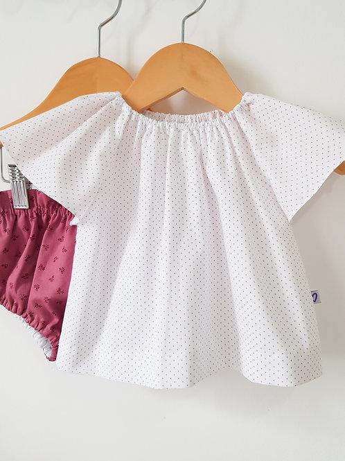 Blusa Poá lilás