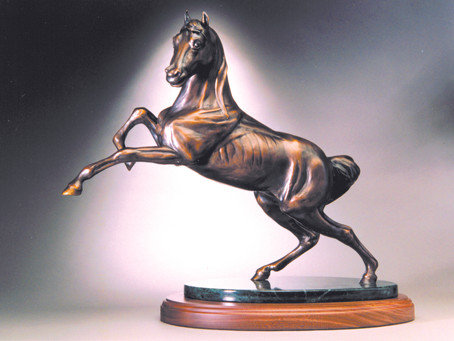 For a Love of Horses: The Art of Connie Foss