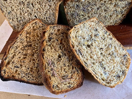 Pandemic Pantry: Grainy Bread