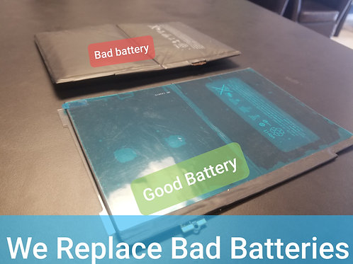Tablet Battery Replacement