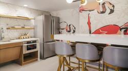 Bunk Suite Kitchen