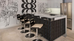 L Penthouse Kitchen
