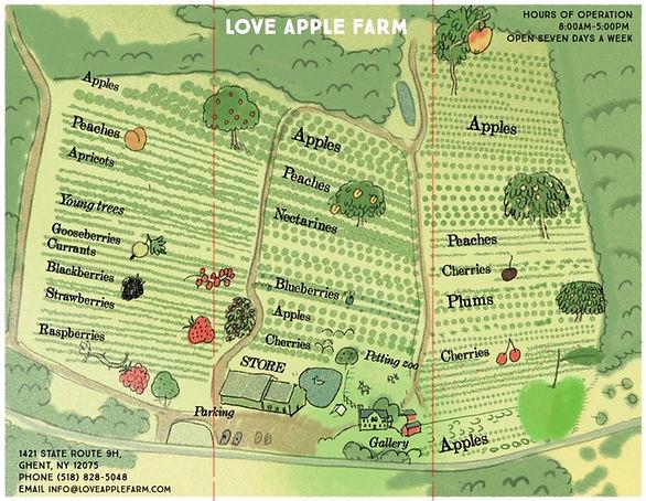 Love Apple Farm Apple picking