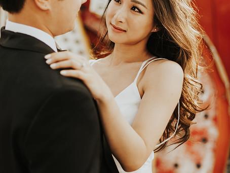 复古婚纱照/无法抗拒的高级泰妆婚纱婚纱照