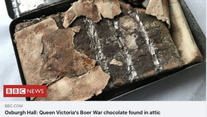 WOW - 121 year old chocolate bar?!?!
