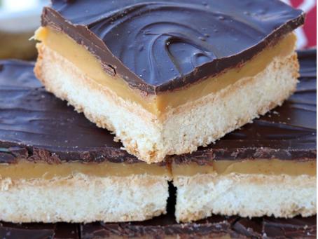 Authentic Millionaire's Shortbread (Chocolate & Caramel Shortbread)