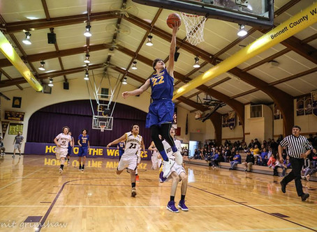 Todd County goes on an 11-0 run against Red Cloud