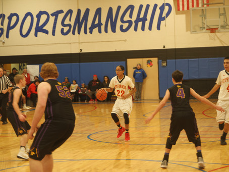 Crow Eagle's Crew on the road for Holiday HOOPS