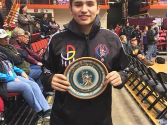 Lakota Nations leading scorer made 90 percent of his free throws