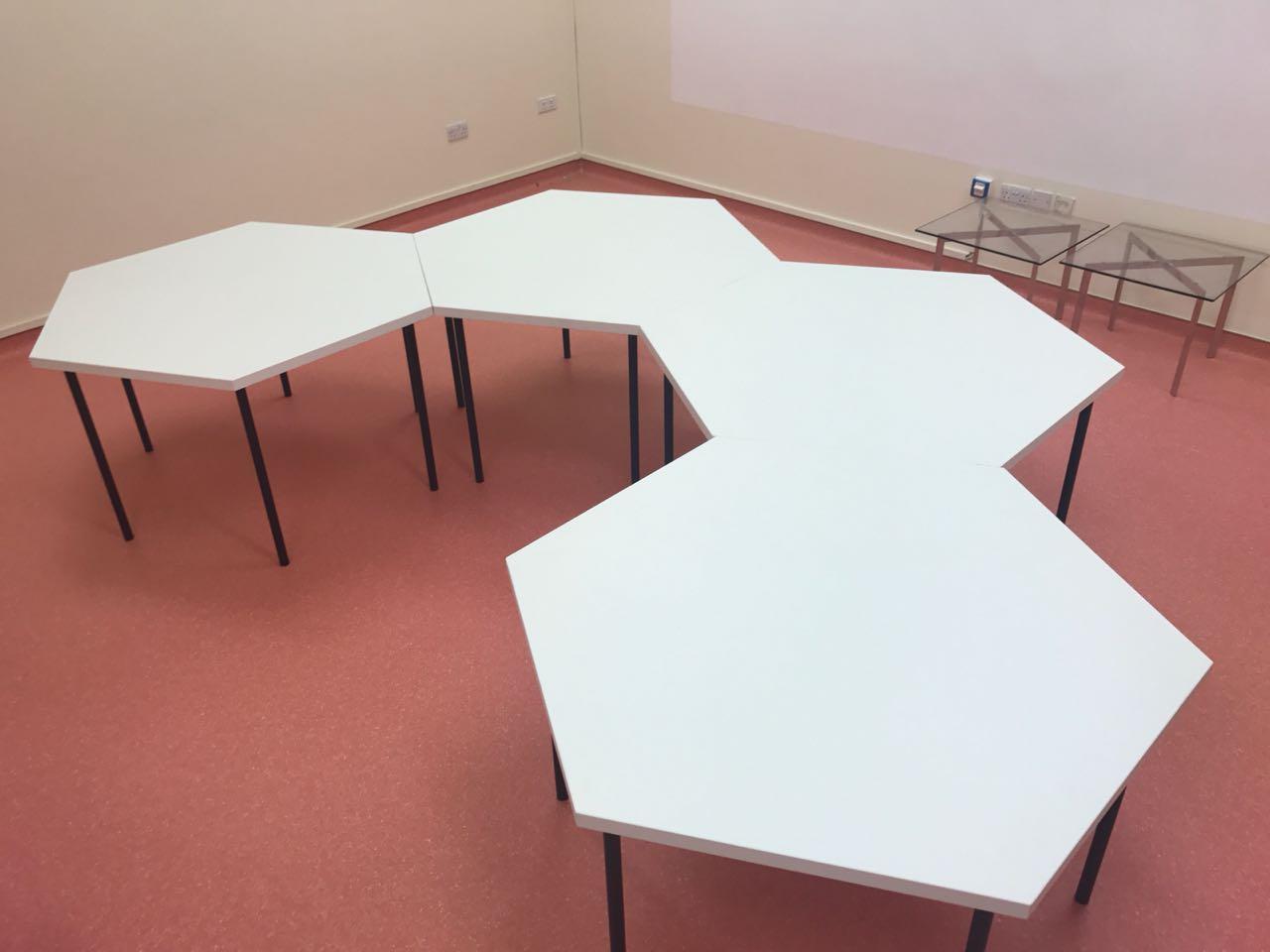 HEXAGONAL TABLES