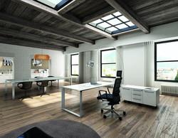 Vertigo Executive Desk
