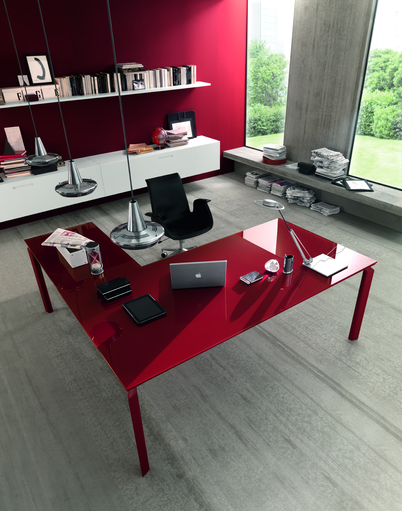 Anywhere Lacquered Desk