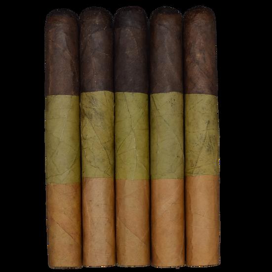 Tri- Color Connecticut Candela Maduro (54x6) in 5 & 25 Count Bundles