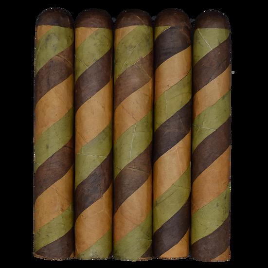Gordo Tri- Color Barber Pole (6x60) in 5 & 25 Count Bundles