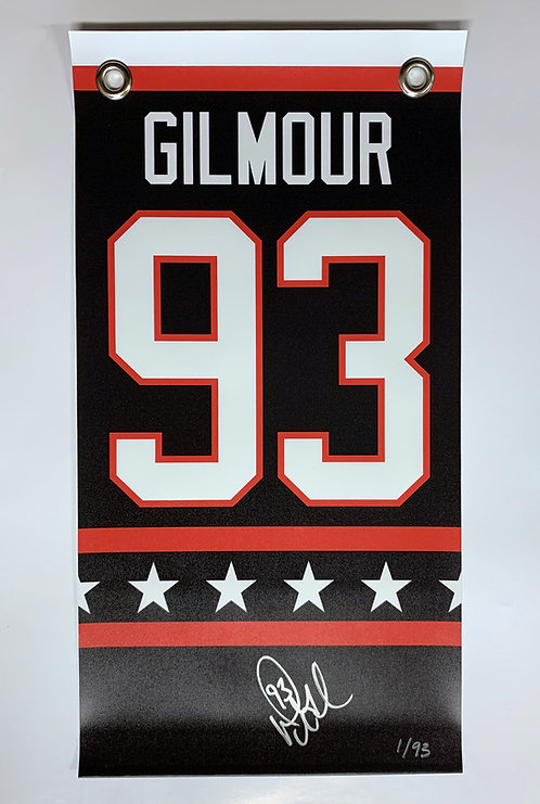Gilmour '93 All-Star LIMITED EDITION Banner