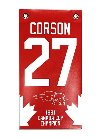CORSON LIMITED EDITION '91 CANADA CUP RED