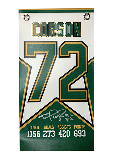 CORSON CAREER BANNER - DALLAS WHITE