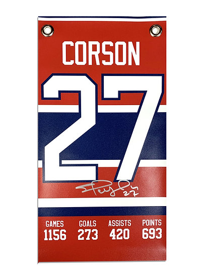 CORSON CAREER BANNER - MONTREAL RED