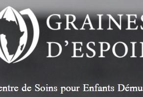"""Parrainage de l'association """"Graines d'espoir"""""""