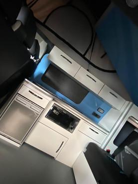 Indium Grey, Barn Doors, LED Upgrade Interior