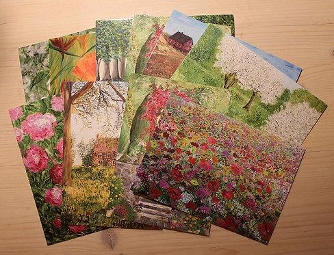 postcard set/ Postkartenset/ postikorttisetti