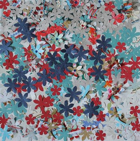 flower field/ kukkataulu/ Blumenbild