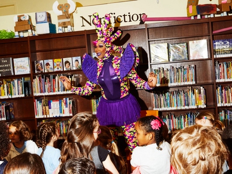 Drag Queen Story Hour Puts the Rainbow in Reading