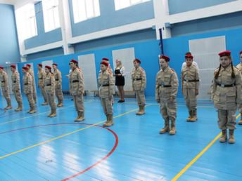 Учащиеся школы № 43  пополнили ряды брянских юнармейцев