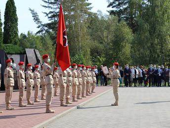 Ряды «ЮНАРМИИ» пополнили 400 брянских юношей и девушек
