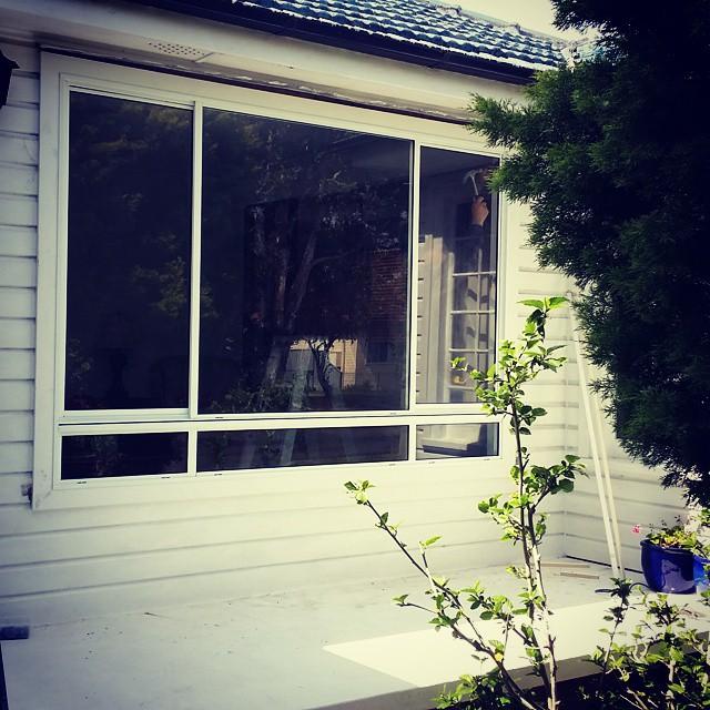 Instagram - Sliding Window Getting Installed At Hillsborough NSW #aluminiumwindows #newcastlensw #ne