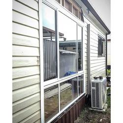 Sliding Windows getting installed at Bayway Village in Fern Bay NSW