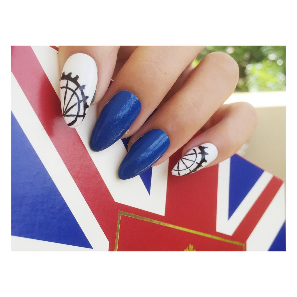 SAFW Nails by Chi Chi