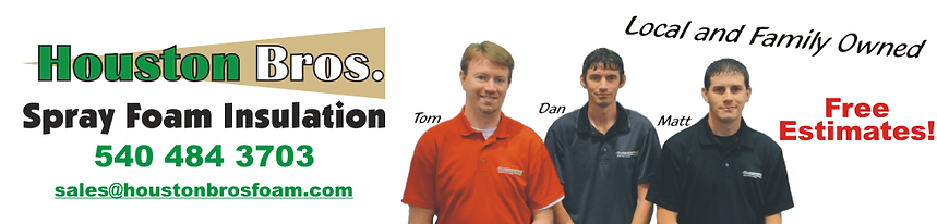 Houston Bros. Spray Foam Insulation, Ferrum, Virginia