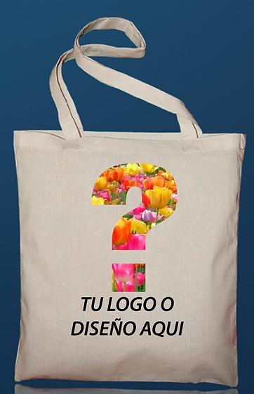 TOTE BAG ALGODON ORGANICO