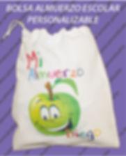 bolsa almuerzo personalizado