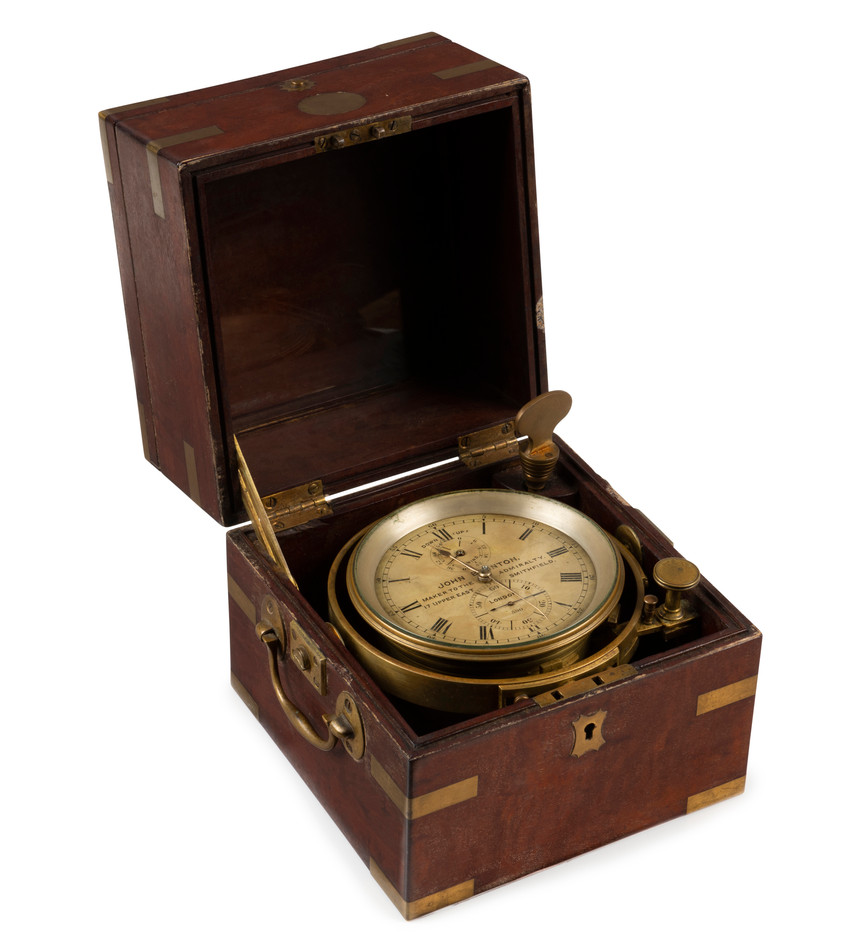 A Ship's Two Day Marine Chronometer by John Brunton, Maker to the Admiralty 17 Upper East, Smithfield, London, Number 590, circa 1870