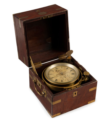 A Ship'sTwo Day Marine Chronometer by John Brunton, Maker to the Admiralty 17 Upper East, Smithfield, London, Number 590, circa 1870