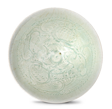 A qingbai 'boys' bowl, Song dynasty