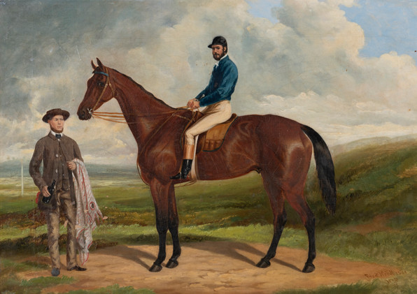 FREDERICK WOODHOUSE SENIOR (1820-1909) Mr Thomas Chirnside's 'General'1863