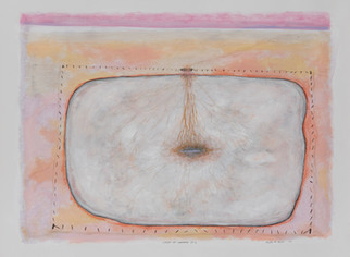 ALLEN HICKS Ghost of Warming 3 2020 acrylic on paper 56 x 76cm SOLD
