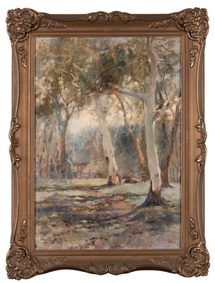 WALTER WITHERS (1854-1914) Through the Trees, 1903