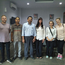 LEAP research students arrive in Sumatra